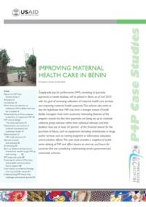 P4P in Benin