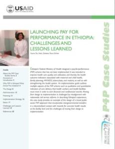P4P in Ethiopia