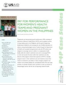 P4P in Philippines