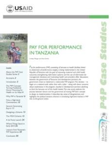 P4P in Tanzania