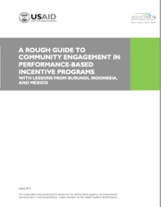 Rough guide to community engagement